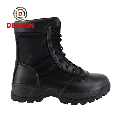 Thailand Tactical Outdoor Durable Black Military Army Jungle Boots