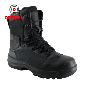 Albania Tactical Large Size High-top Combat Hiking Boots for the Army