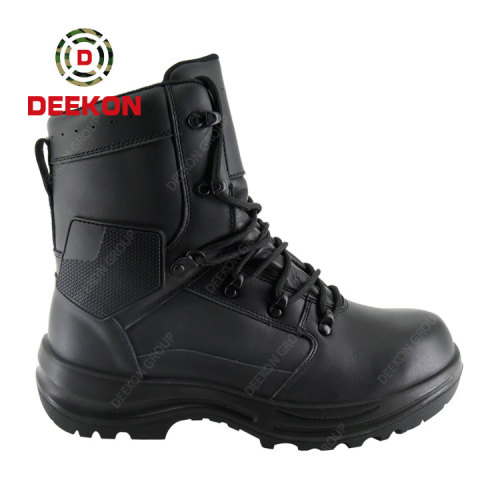Albania Solider Military Swat Tactical Army US. Rubber Sole Leather Boots