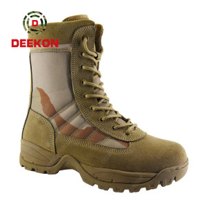 Army Jungle Three Color Desert Oxford Tactical Combat Military Boot