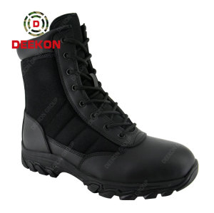 Waterproof tactical boots 8 inch Dubai army boots jungle safety army shoes for men