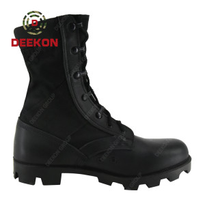 Military Men's Black Training Anti Slip Breathable Tactical Military Combat Boots