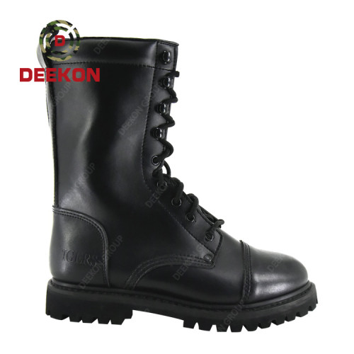 China Supplies Waterproof Outdoor Hiking Leather Tactical Military Boots