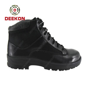 Deekon Ankle Tactical Military Army Boots for Police Hiking