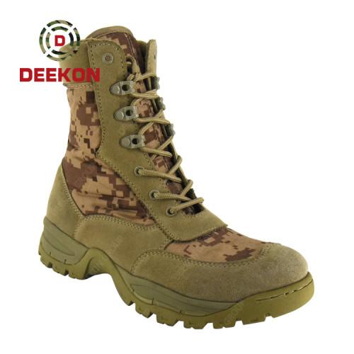 Saudi Arabia Desert Camoufalge Hiking Hunting Military Safety Tactical Combat Boots