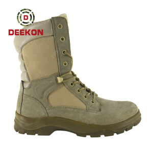China Factory Cheap Good Price Army Combat Boots Military Tactical Boots
