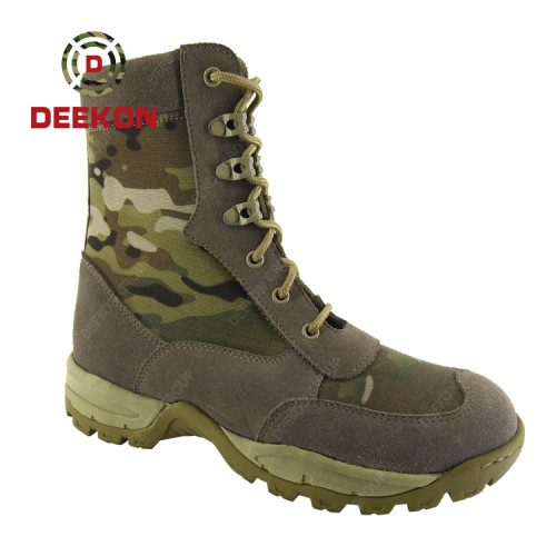 Multicam Camouflage Superior Quality Men'S Military Tactical Boots Army Jungle Boots