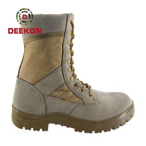 Tactical Military Khaki Boots Men Desert Safety Boots