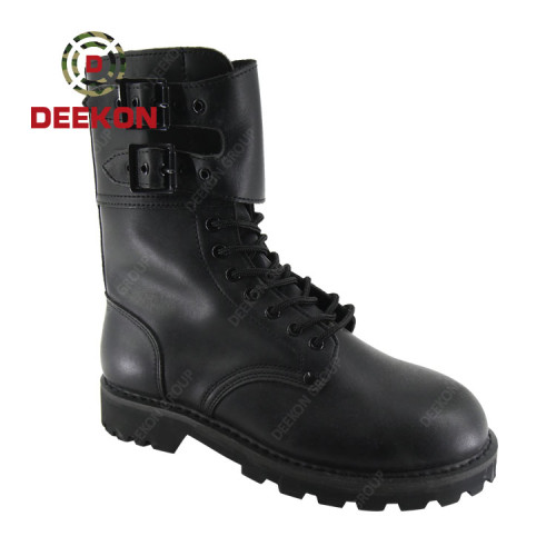 Deekon Safety Brand Traffic Motorcycle Police Boots