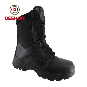 Military Tactical Waterproof Hiking Combat Black First Leather Army Boots