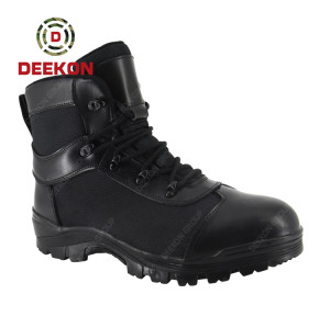 Albanin New Big Size High-Top Military Boot for Man Outdoor Mountaineering Shoes