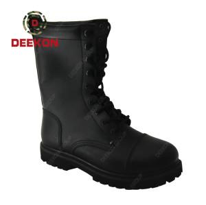 High Quality men Combat Assault Outdoor Training Leather Anti-Slip boot