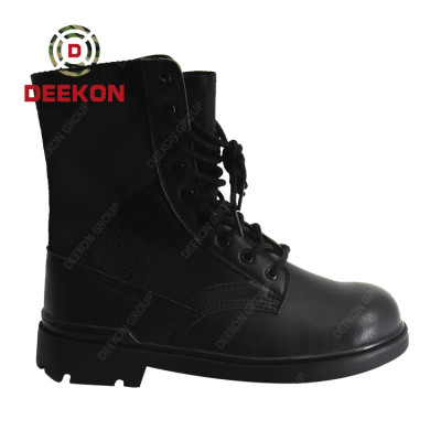 Safety Brand Traffic Motorcycle Police Military Black Tactical Shoes
