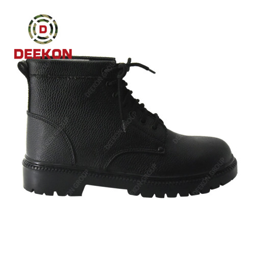 Top Black Winter Waterproof Army Tactical Boots Military Boot Real Leather Shoes