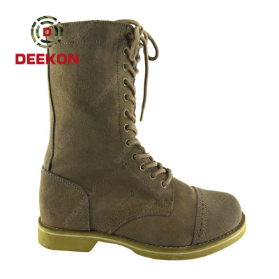 Hot Sale High Top Hiking Shoes Army Fans Tactical Military Combat Boots