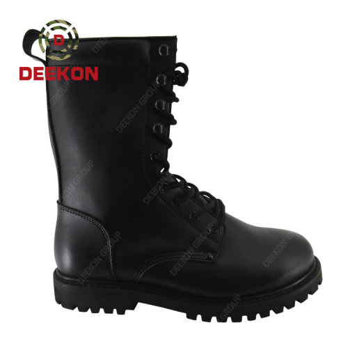 Men's Army Military Jungle Leather Combat Outdoor Work Walking Boots