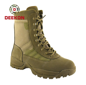 Thailand New Arrival Hiking Military Tactical Combat Shoes Boots