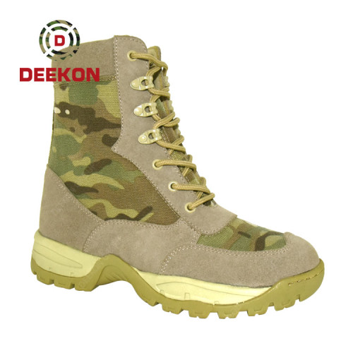 Multicam Camouflage Breathable lightweight Mens' Military Tactical Combat Boots