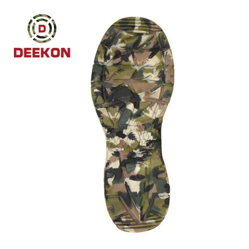 Deekon Customized Camouflage Pattern Boots for Army Using