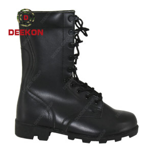 Classic Design Leather Snow Waterproof Anti Slip Military Tactical Boots
