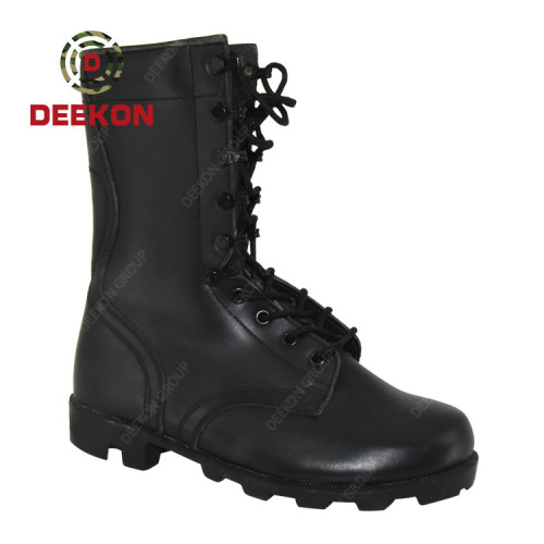 Deekon First Leather Windproof Waterproof Anti Slip Military Tactical Army Boots