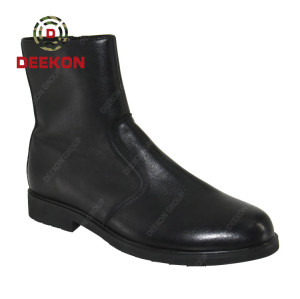 High Ankle Leather Men Army Black Military Tactical Boots for Men