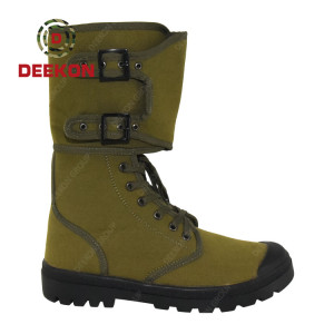 New Design Winter Combat Military Tactical Canvas shoes