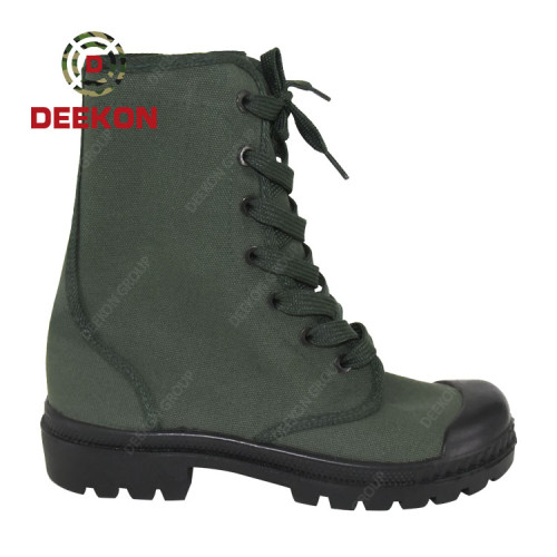 Military Army Men Combat Tactical Outdoor Canvas boots