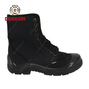 Outdoor Hiking Trekking Hunting Tactical Combat Canvas boots