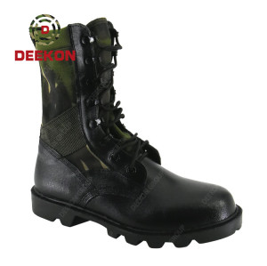 Thailiand New Design Army Military Combat Tactical Ankle Boots For Men