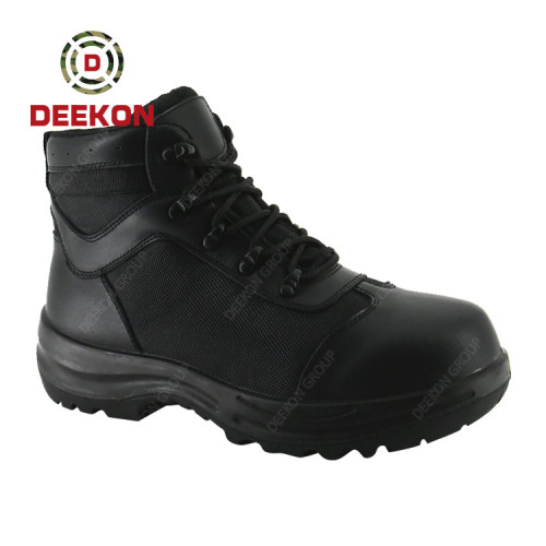 Albania Black Safety Work Riding Hunting Tactical Ankle Boots for men