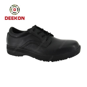 Men's Leather Military Tactical Army Outdoor Camping Shoes