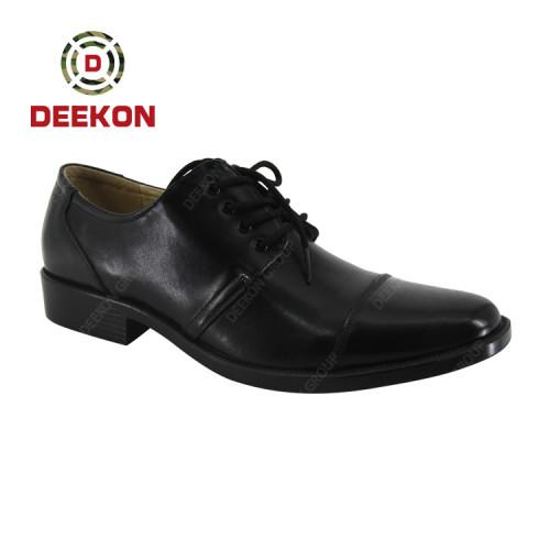 Deekon New Black Brown Men Leathe Male Formal Shoes for Officers
