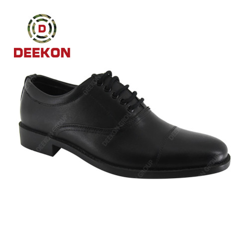 Hot Sale Office Genuine Cow Leather Slip-on Design Dress Shoes