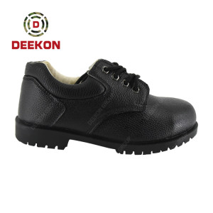 Deekon Group Supply Military Army Mens Officer Genuine Leather Shoes