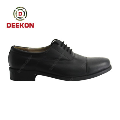 Good Quality Waterproof Genuine Leather material Tactical Military Offcer Shoes