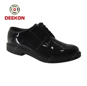Deekon Group Military Tactical Combat Army Outdoor Leather Shoes