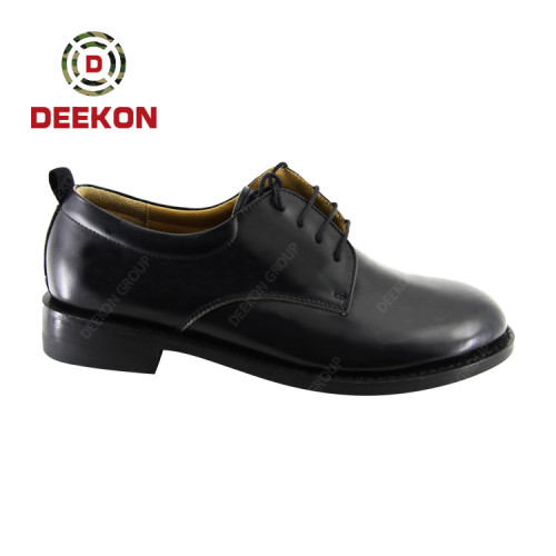 Deekon Manufactured High Quality Military Officer Genuine Leather Shoes