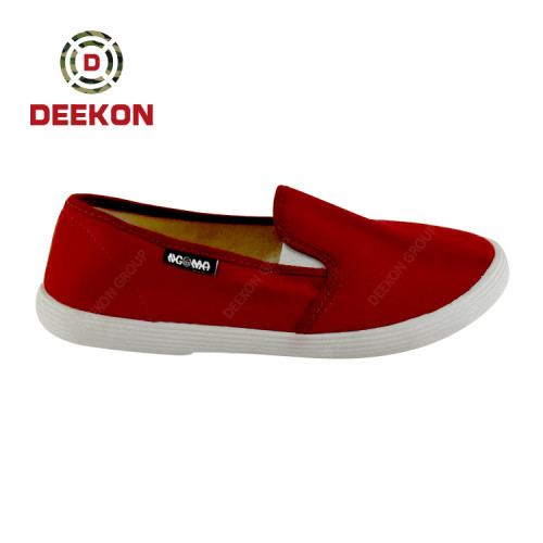 Factory Directly Sell Casual Fashion Lightweight Men Canvas Shoes