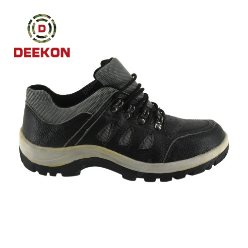 Oil Resistant Chemical Resistant High Quality Rubber Hiking Military Safety Work Shoes