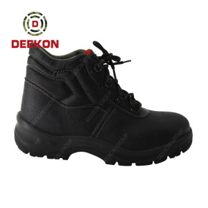 Hot Sale Genuine leather Military Safety Army Footwear for Men's