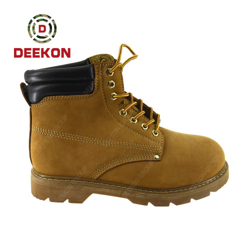 Military Waterproof Safety Outdoor Hiking Shoes And Working Boot