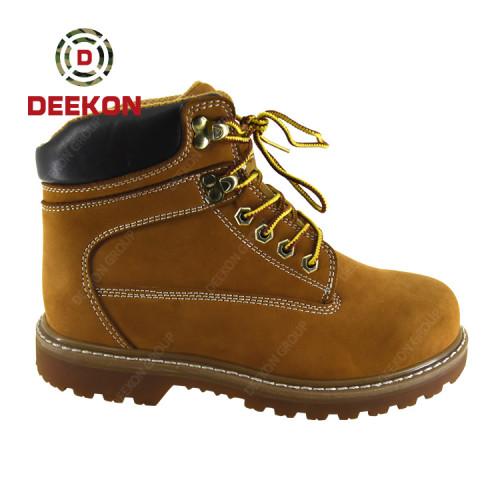 Custom Work Safety Military Combat British mens Desert Boots