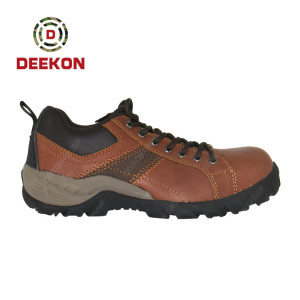 Customized Tactical Leather Boots on foot non-slip climbing Safety Army Shoes