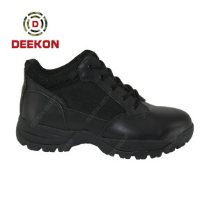 Custom Men Black Color Tactical Breathable Military Boots