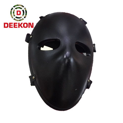 NIJ Standard Bulletproof Face Mask Factory for Face Protection