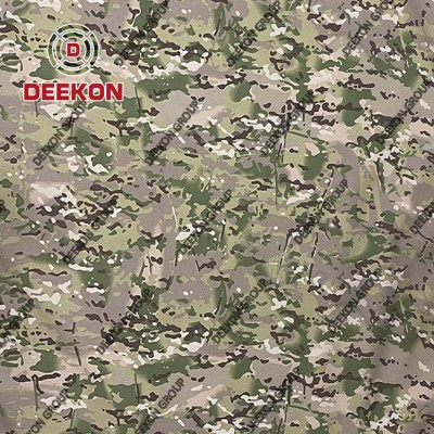 Thailand Multicam Camo 100% Polyester Backpack Fabric with WR Supplier