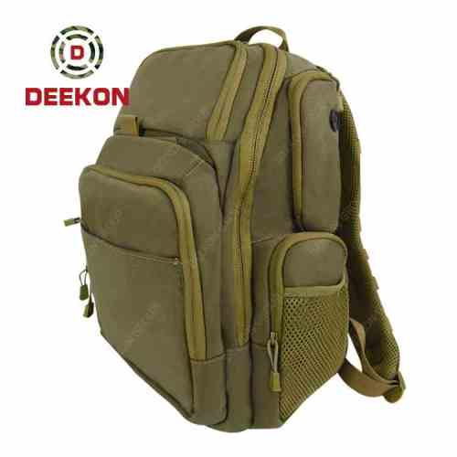 Military Tactical Backpack Supplier Khaki Waterproof Military Bag for Tactical