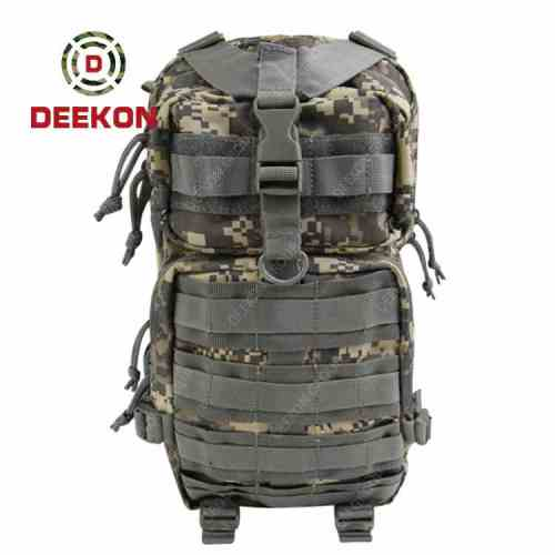 Camouflage Oxford Molle Military Hiking Rucksacks Tactical Backpack Supplier
