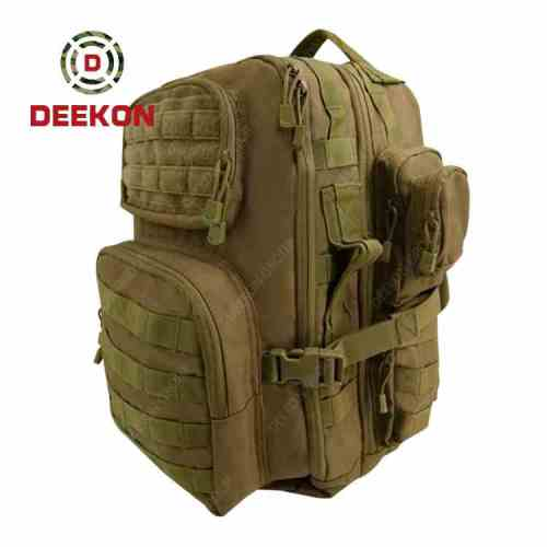 Water Resistant Trekking Hunting Khaki Molle Military Tactical Backpack Company